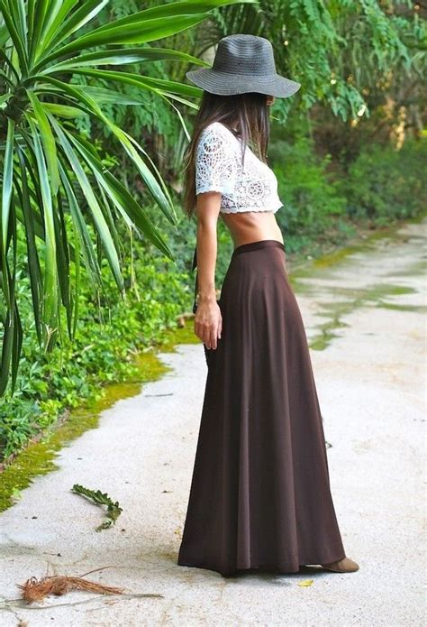 Combine Skirt top 10 trend of summer what to combine maxi skirt
