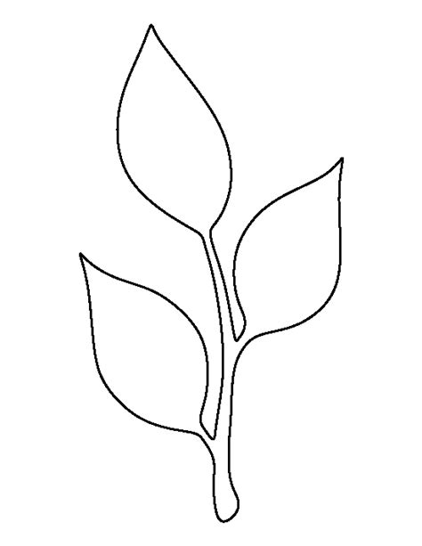 flower stem template search results for flower stem and leaf template