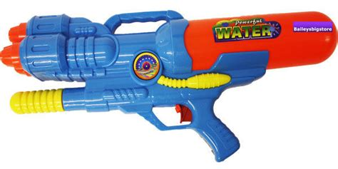 Water Gun Hello large soaker water pistol gun three jets