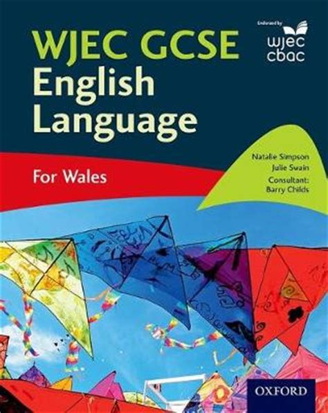 wjec gcse english language by natalie simpson julie swain waterstones