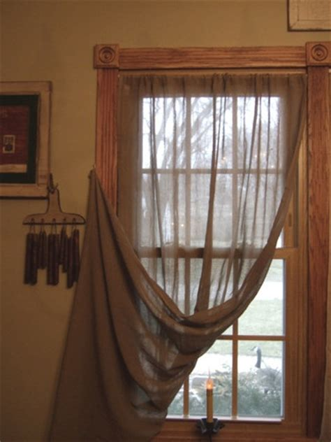 tobacco cloth curtains primitive oat panel curtains 40 quot x 63 quot like tobacco cloth