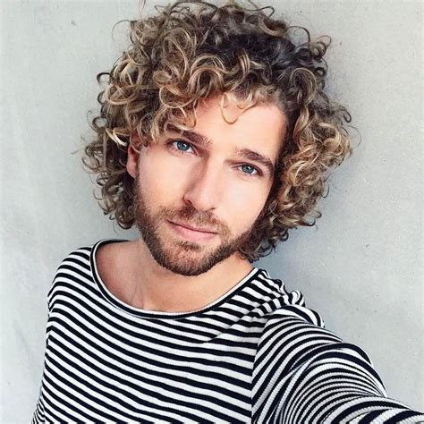 mens haircuts you don t have to style the 25 best long curly hair men ideas on pinterest mens