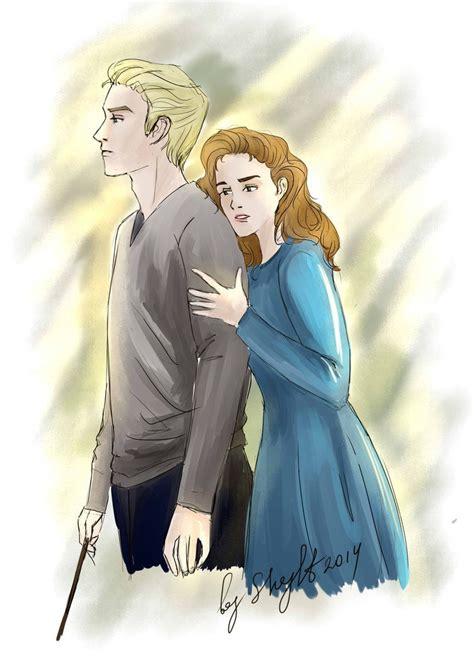 Hermione Granger X by Hps Draco Malfoy X Hermione Granger Dramione Draco