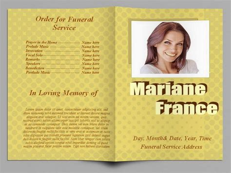 79 Best Images About Funeral Program Templates For Ms Word To Download On Pinterest Program Free Funeral Program Template 2010