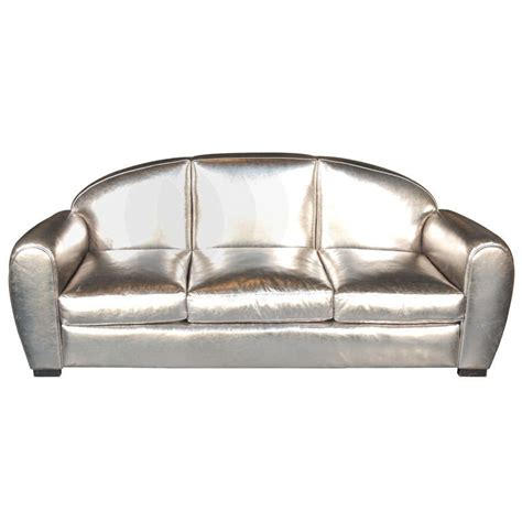 french leather sofa 1950 s french leather sofa by jacques adnet at 1stdibs