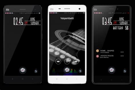 themes miui v6 mtz the 5 winners from global theme contest free download