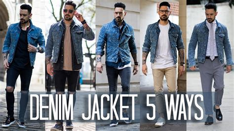Do You Wear As Outerwear by How To Wear A Denim Jacket 5 Ways S Style Fashion