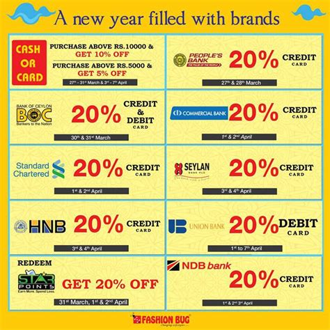 new year promotion credit card top credit card promotions you do not miss this sinhala