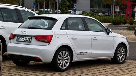 Audi A1 Attraction file audi a1 sportback 1 4 tfsi attraction heckansicht