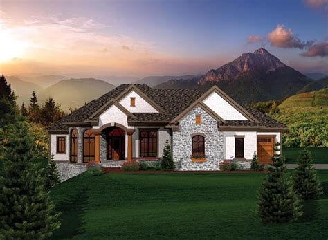 Ranch House Plan Chp 53074 At Coolhouseplans Com Cool House Plans Ranch
