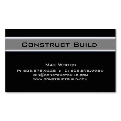 construction business card templates free 17 best images about construction business cards on