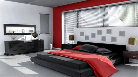 red black and white bedrooms interior fascinating image of red black and white bedroom