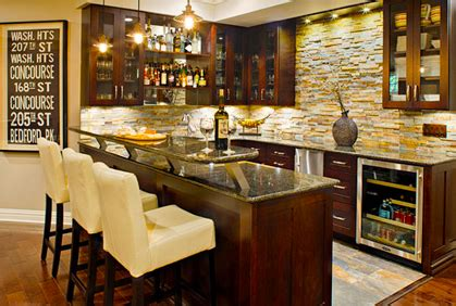 design build  basement wet bar plan