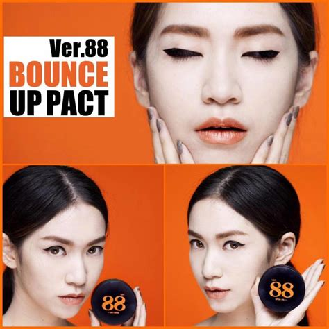 Sticker Embos Besar Angka buy ver 88 bounce up pact spf 50 pa ver88 bedak multifungsi deals for only rp229 000 instead