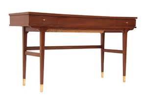 walnut desk modern mid century modern walnut vanity desk modern l a