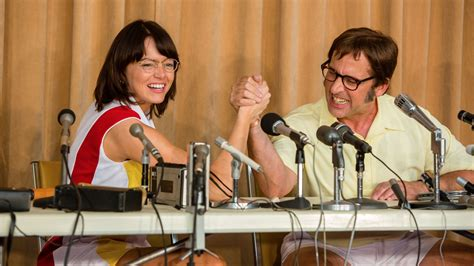 emma stone steve carell movies watch emma stone and steve carell as tennis legends billie