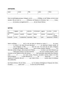 Resume D Antigone by Resum 233 Antigone Chapitre Par Chapitre