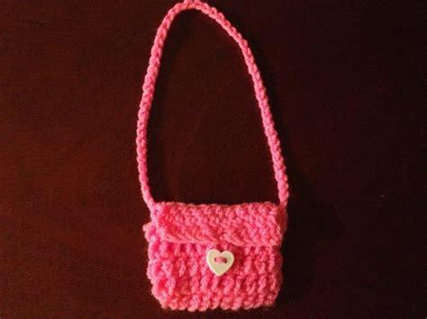 crochet pattern for purse with doll american girl doll crochet purse hookingisalifestyle