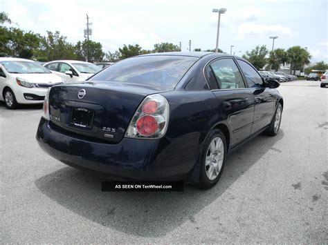 2006 nissan altima s sedan 4 door 2 5l