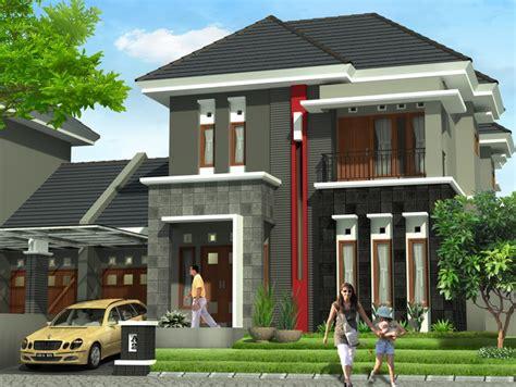 ide desain rumah minimalis type  terbaik  menarik