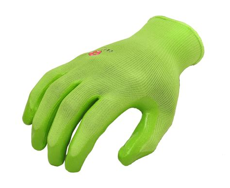 Garden Gloves by S Garden Gloves 6 Pair Pack Assorted Colors