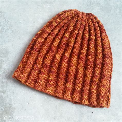 knitting abbreviations pm cc knits mock cable hat