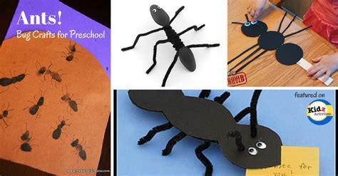 ant craft for bug crafts for preschool kidz activities