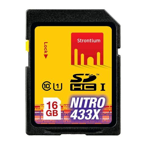 Termurah Microsd Strontium Nitro 16gb Speed 433x 65mb S strontium nitro 433x sdhc card 16gb 65mb s class 10 uhs 1 キャンペーン スペシャルオファー expansys 日本