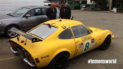 opel gt race car lemonsworld episode 12 the best opel gt race car in the