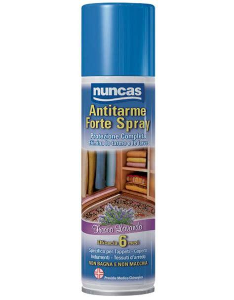 antitarme armadio spray antitarme forte a protezione completa nuncas