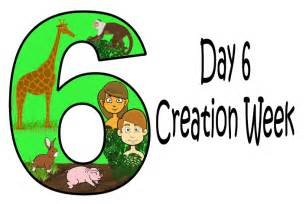 day 6 god created animals and people mission bible class