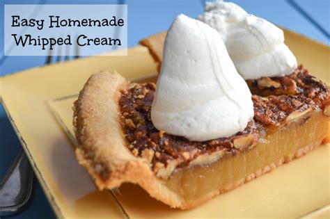 heavy whipping recipe dessert easy won t deflate after plating