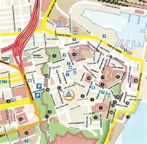 map my walk canada city walking map internationale de qu 233 bec hi