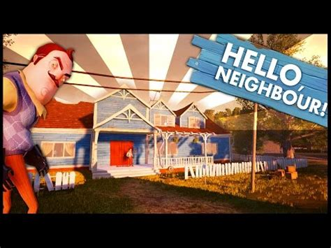 home design game neighbors hello neighbor alpha 2 ep 1 a a giant secret basement hello neighbor alpha 2 game
