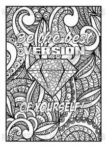 mandala coloring book with quotes 88 best images about pics to color on serenity