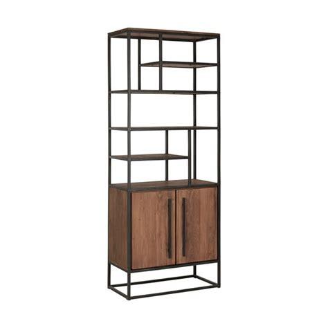 de boekenkast 7 boekenkast met 2 deuren en 7 open vakken cees mooi stoer