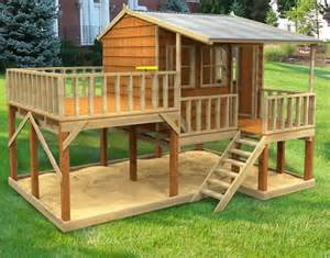 Elevated Cubby House Plans Sand Pit Play Is Easy With A Cubby House Cubbykraft