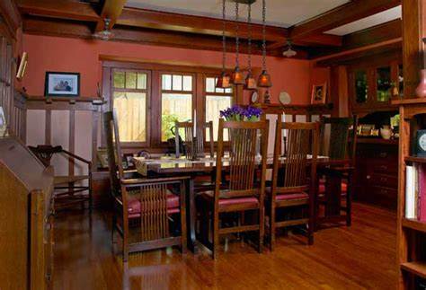craftsman style lighting dining room iron