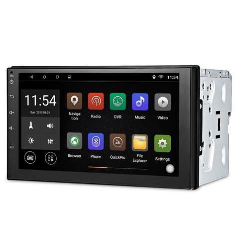 din android 7003 universal 2 din android 6 0 car multimedia player bluetooth car player gps wifi car
