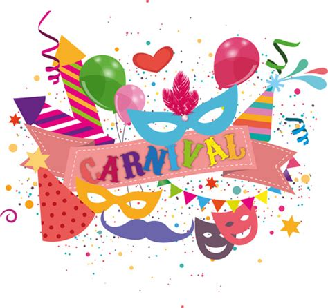 Carnival Confetti Art Background Vector Free Vector In Carnival Free