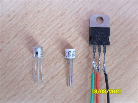 fet transistor identification identifying the correct leg of a transistor or mosfet all