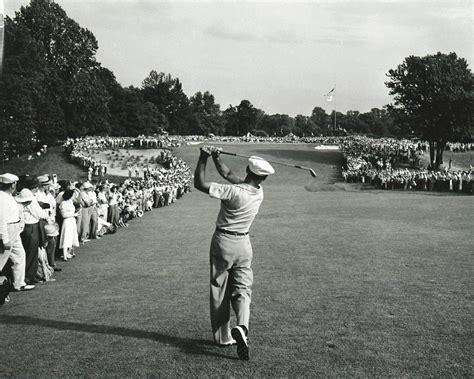 ben hogan iron swing ben hogan hitting 1 iron off the tee during 1950 us open