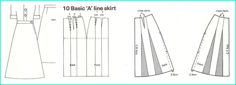 pattern making a line skirt if you haven t get yourself a pattern book laura