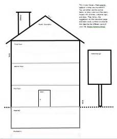 draw your house template for quot draw your house quot activity counseling