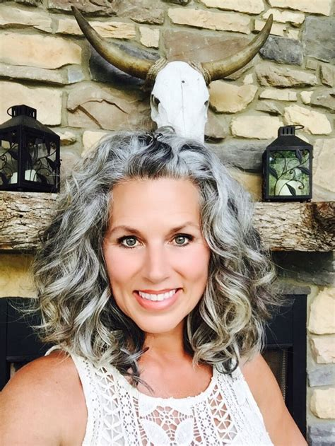 haircuts for transitioning to gray hair image result for transition to grey hair with highlights