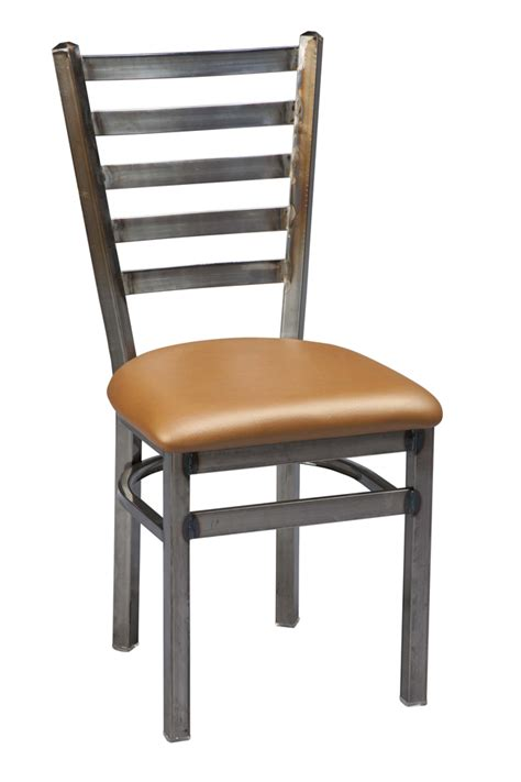 Commercial Dining Chair Regal Seating Series 516 Backed 4 Ladder Back Commercial Dining Chair W Upholstered Seat