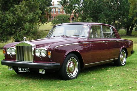 rolls royce silver shadow sold rolls royce silver shadow ii saloon auctions lot