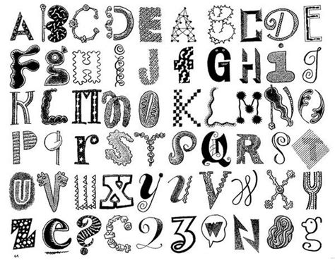 how to do doodle lettering 1000 images about schrift auf typografie