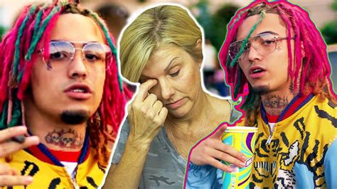 lil pump mother mom reacts to lil pump quot gucci g4ng quot official music