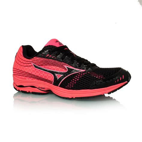 mizuno womens running shoes mizuno wave sayonara 3 womens running shoes pink black